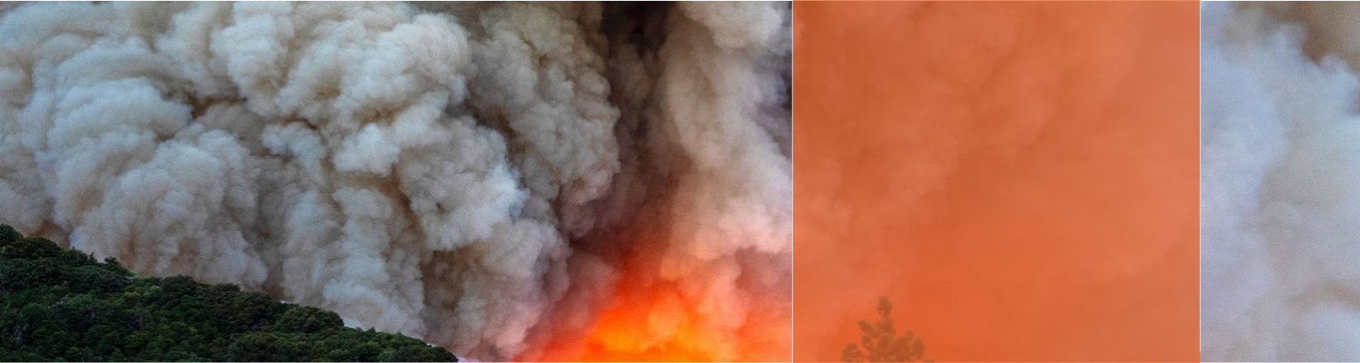 Wildfires produce toxic smoke and carbon emissions that are harmful to our health.